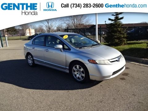 Pre-Owned 2008 Honda Civic LX