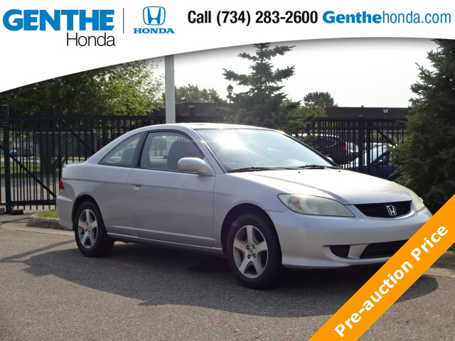 Exceptional Pre Owned 2004 Honda Civic EX
